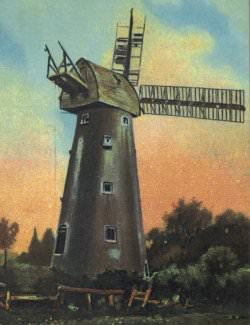 The mill in disrepair